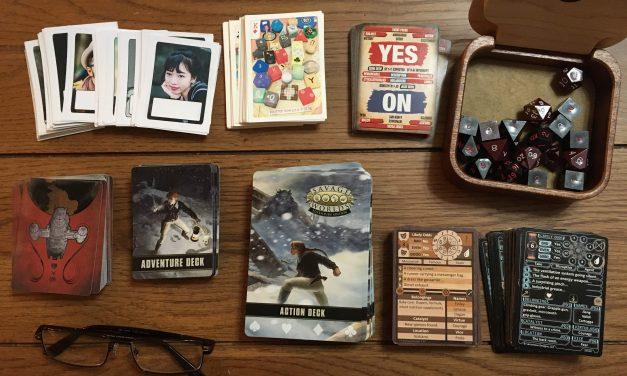 Cards in RPG Games