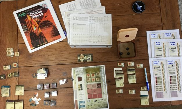 Citadel of Blood:  The 10 Year Quest