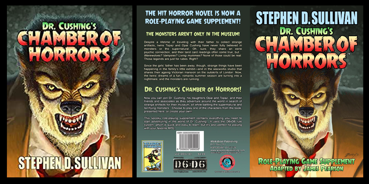 Dr. Cushing's Chamber of Horrors – the RPG
